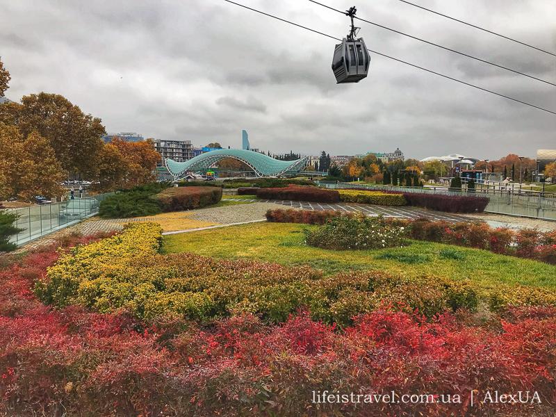 канатная дорога Тбилиси