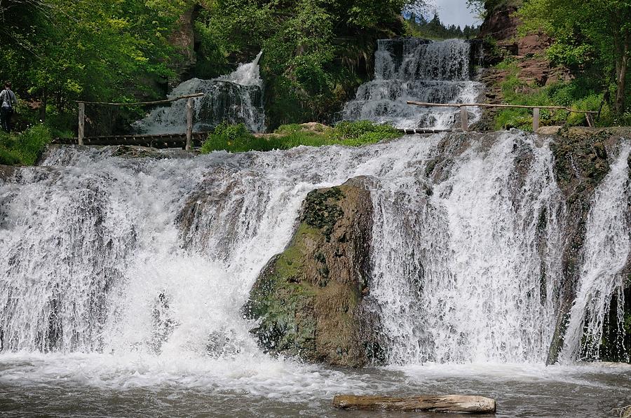 Залещики, замок в Ныркове и Джуринский водопад