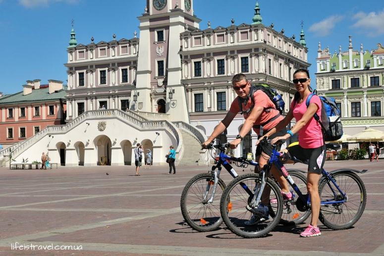 Замость, велопоход Польша